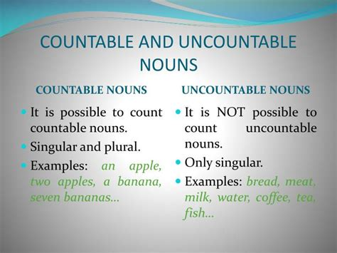 English Grammar Countable And Uncountable Nounsradix Tree Online Tutoring & Training Services