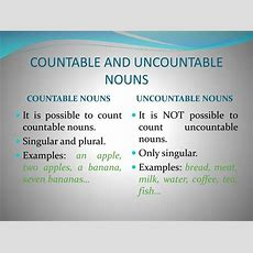 English Grammar Countable And Uncountable Nouns Radix Tree Online Tutoring Services