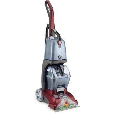 upholstery steam cleaner fh50140rm hoover power scrub vacuum corded carpet cleaner