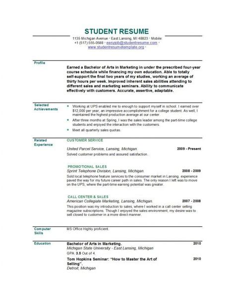resume examples  graduate google search resume