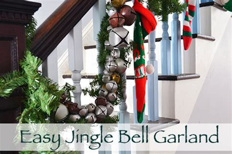 how to make jingle bells how to make an easy jingle bell garland angie s roost