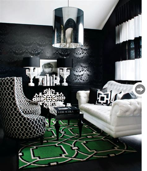 Black White And Green by Simple Everyday Glam
