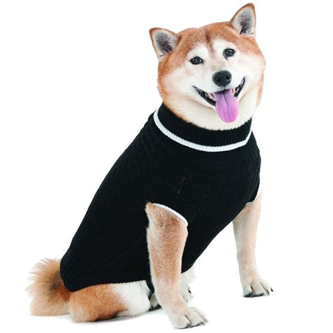 doge sweater fashion pet fashion pet black cable knit sweater sweaters