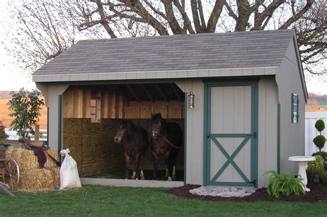 run in sheds for sale one and two story sheds equine shelters and run ins