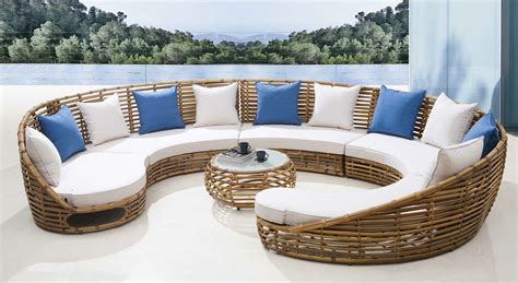 circular dining sets enhance of your house with luxury outdoor furniture