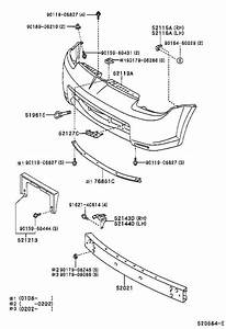 Toyota Mr2 License Plate Bracket  Front