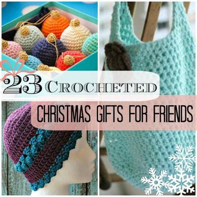 free crochet patterns easy christmas gifts 23 crocheted gifts for friends allfreecrochet