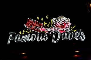 Famous Daves Neon sign | Legendary.Pit.Barbeque | Pinterest