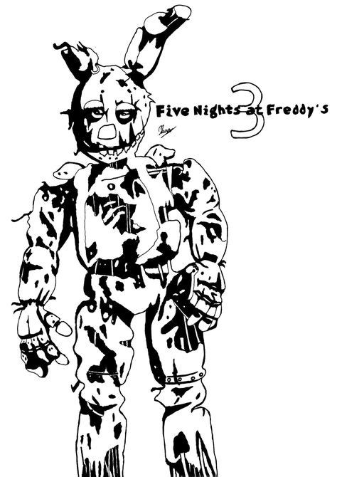Spring Trap Coloring Pages Further Further | Free Download