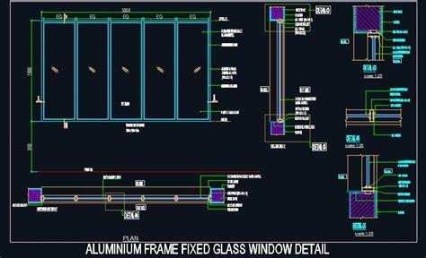 aluminium frame fixed glass window design glass window window design window architecture