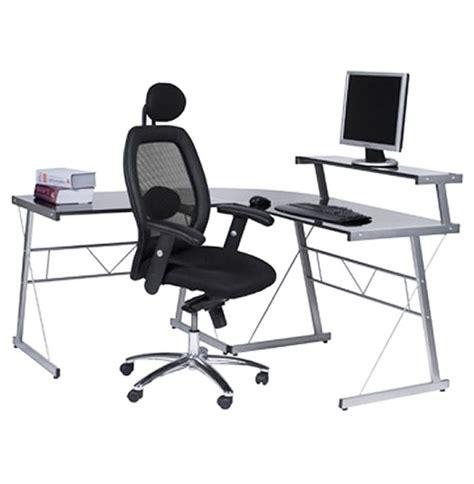bureau d angle ordinateur bureau ordinateur noir images