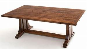 Craftsman Dining Table, Bungalow Table, Refined Mountain