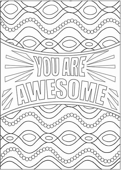 Coloring Pages Dover Awesome Publications Fall Quote
