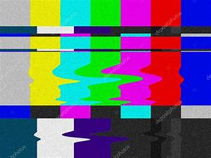 TV bars signal error. — Stock Photo © cienpies #6385629
