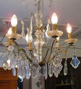 Kronleuchter Mit Kerzen Und Lampen : kronleuchter antik lampen antiquit ten ein funkelndes kleinod ist dieser leuchter mit sechs ~ Bigdaddyawards.com Haus und Dekorationen