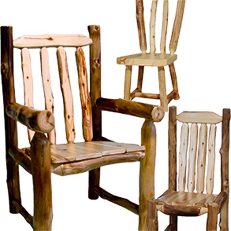 dining room furniture rustic log