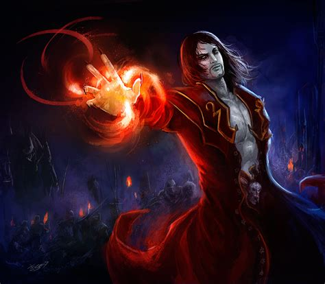 Gabriel Castlevania Lords Of Shadow 2 By Esther Sanz On