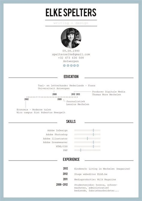 11592 well designed resumes 69 well designed graphic design resume inspirations