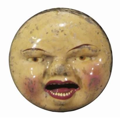 Face Moon Halloween Creepy Toy Squeaker Goodies