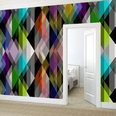 le papier peint geometrique en 50 photos avec ides le With couleur moderne pour salon 17 1001 modales de papier peint 3d originaux et modernes