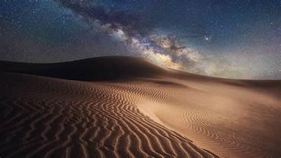 Desert Night Starry Mongolia Gobi China Windows