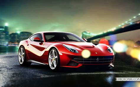 beautiful ferrari car high resolution wallpaper