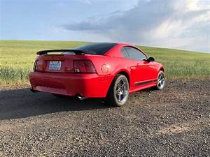 4th gen red 2003 Ford Mustang Mach 1 V8 6spd manual For Sale - MustangCarPlace