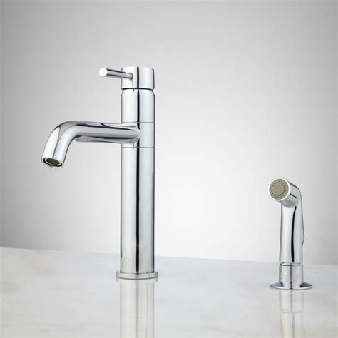 Cormac Singlehole Kitchen Faucet With Side Spray