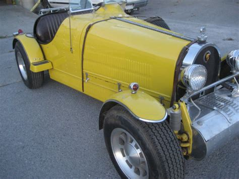 Recently refreshed vw 1930cc engine, paired with 4 speed transm. 1927 BUGATTI TYPE 35 REPLICA - Classic Bugatti Other 1929 for sale