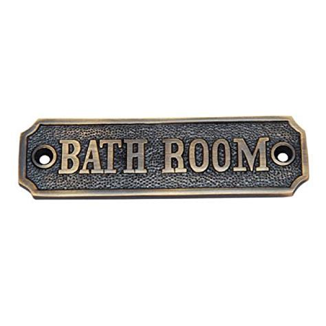 antique bathroom signs amazoncom
