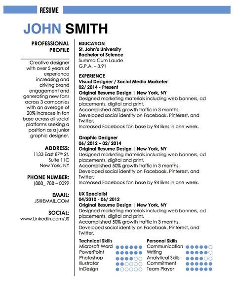 Resume Template Smith smith resume writing smith