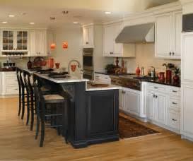 black island kitchen white cabinets with black kitchen island decora