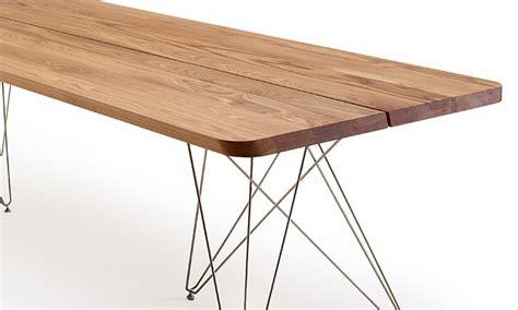 table de salle 224 manger scandinave plank de luxe bois massif