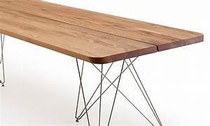 Table Salle A Manger Scandinave Occasion : table de salle manger scandinave plank de luxe bois massif ~ Teatrodelosmanantiales.com Idées de Décoration