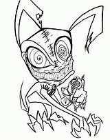 Ghost Coloring Scary Sheets Printable Poster sketch template