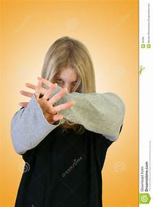 Girl Hiding Face Royalty Free Stock Photo - Image: 45395