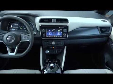 2018 Nissan Leaf  Interior Youtube