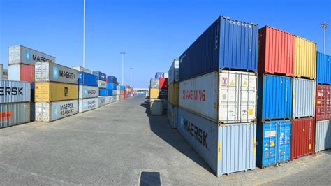 modjo dry port easing  flow  goods  services
