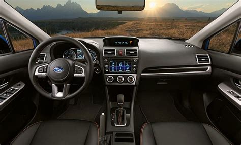 subaru crosstrek interior all new 2017 subaru crosstrek gallery