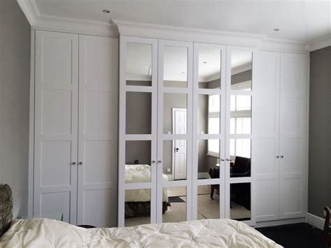 Small Mirrored Wardrobe by Mirrored Fitted Wardrobes Search Bedroom In