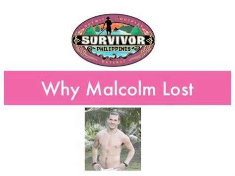 Survivor: Phillippines--Why Malcolm Lost | Survivor ...