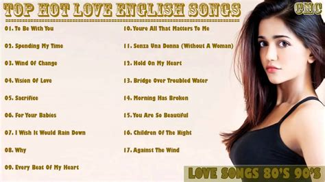 Top Hits Love Songs 80's 90's Love Song Greatest Hits Best