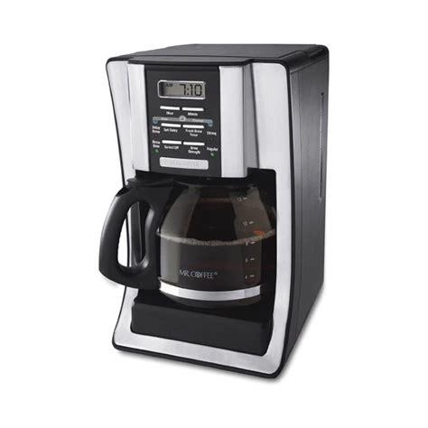 Get performance ratings and pricing on the mr. Mr. Coffee BVMC-SJX36RB 12 Cup Programmable Coffee Maker - Walmart.com - Walmart.com