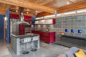 decorating with red accents 35 ways to rock the look With kitchen cabinets lowes with cinder block wall art