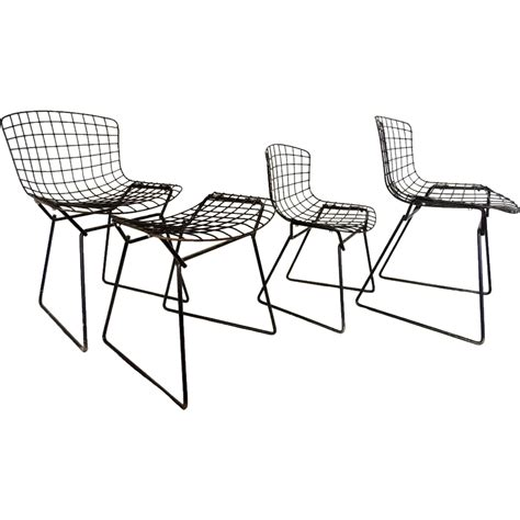 knoll bertoia wire child toddler chairs plus child
