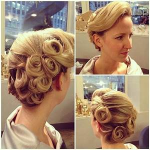1940's retro updo. A real pin up... | Hairstyles ...