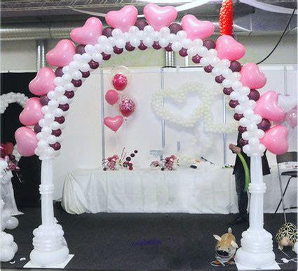 ballon dekorationen hochzeit luftballons zum staunen