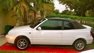 2000 Vw Cabrio Convertable White
