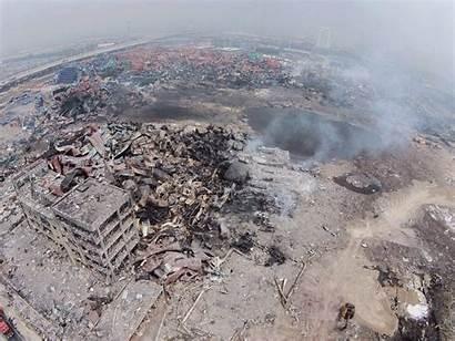 Tianjin Drone Disaster Explosion Astonishing Blast Caught