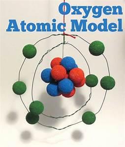 Oxygen Atom Model 3d